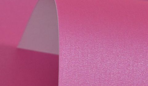 Brilliant Rose Pink Pearlised Card 300gsm