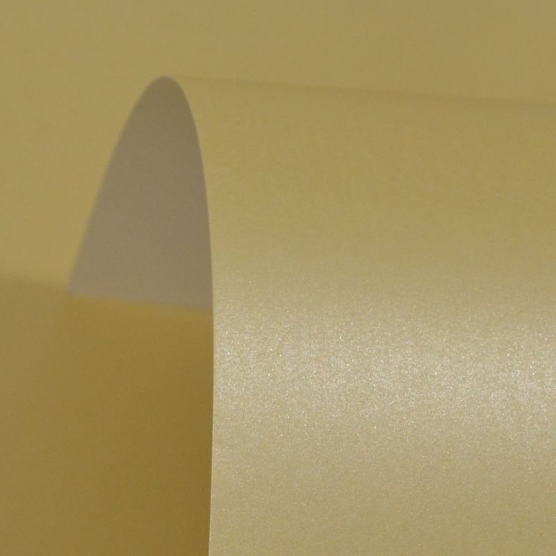 Lustre Print Silver Cream 300Gsm