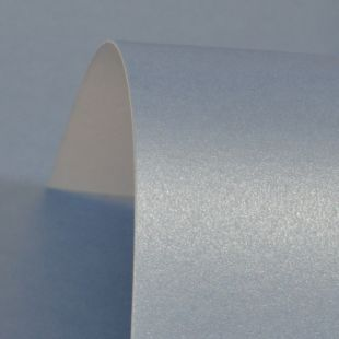 Maya Blue Pure Pearl Card Blanks One Sided 300gsm