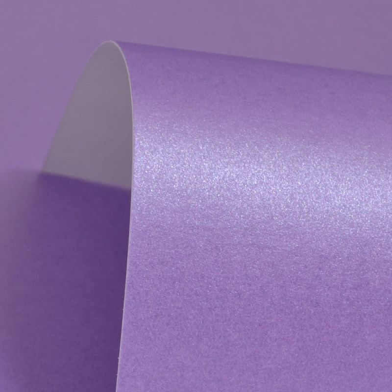 Lustre Print Silver Periwinkle 300Gsm