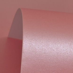 Lustre Print Silver Persian Pink 300Gsm