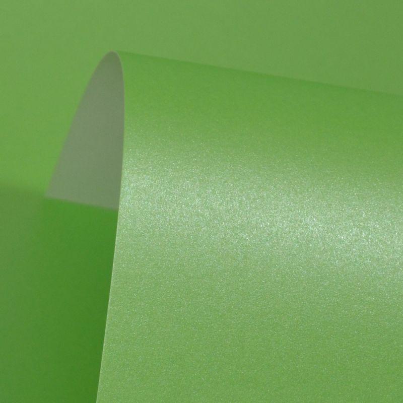 Lustre Print Silver Spring Green 300Gsm
