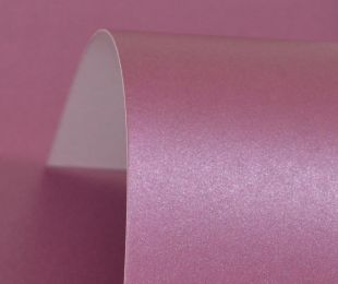 Lustre Print Silver Wild Berry 300Gsm