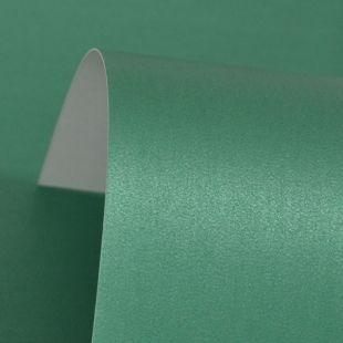 Lustre Print Silver Xmas Green 300Gsm