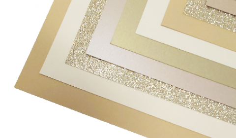 Luxury Caramel Mixed Card Pack A4 | 10 Sheets
