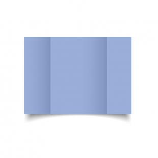 A5 Gatefold Marine Blue Card Blanks