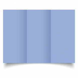 DL Trifold Marine Blue Card Blanks