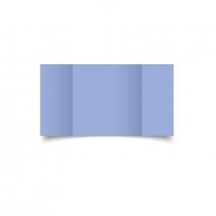 Large Square Gatefold Marine Blue Card Blanks