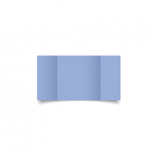 Marine Blue Small Square Gate Fold Card Blank 01