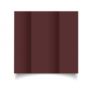 DL Gatefold Maroon Card Blanks