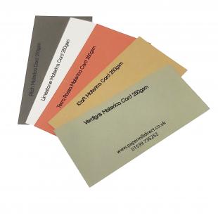 Materica Coloured Card