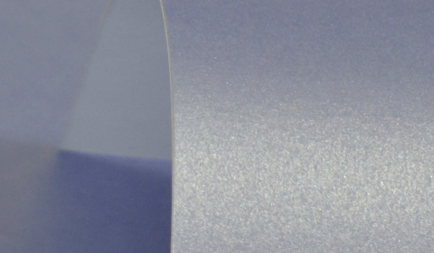 Maya Blue Pure Pearl Double Sided Card 300gsm