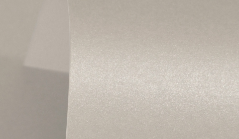 Mercury Silver Pure Pearl Double Sided Card 300gsm