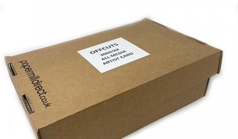 All Media Artist Paper Natural White 300gsm Midi Boxes