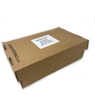 All Media Artist Paper Natural White 300gsm Midi Box of Offcuts