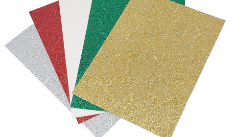 Christmas Glitter Mixed Card Pack