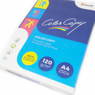 A4 (210x297mm) Mondi Color Copy Paper White 120gsm