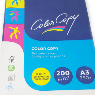 A3 (297x420mm)  Mondi Color Copy Card White 200gsm