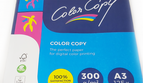 A3 (297x420mm) Mondi Color Copy Card White 300gsm