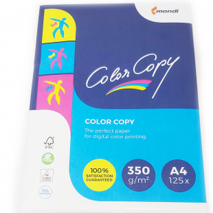 A4 (210x297mm) Mondi Color Copy Paper White 350gsm