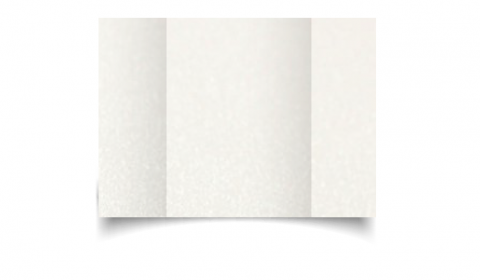 A6 Gatefold Natural White Pearlised Card Blanks