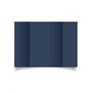 A5 Gatefold Navy Card Blanks