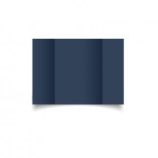 A6 Gatefold Navy Card Blanks
