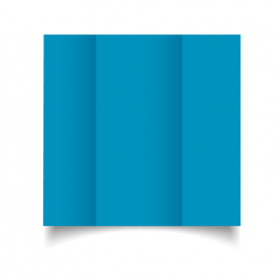 DL Gatefold Ocean Blue Card Blanks