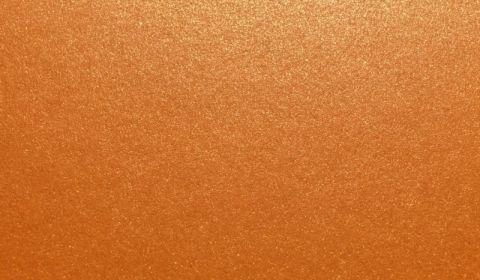 Orange Glow Sirio Pearl Card Blanks Double Sided 300gsm