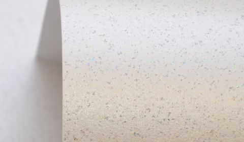 Quartz White Pure Sparkle Card Blanks One Sided 300gsm