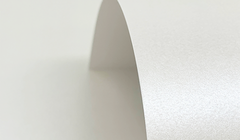 Quartz White Pure Pearl Card Blanks Double Sided 300gsm
