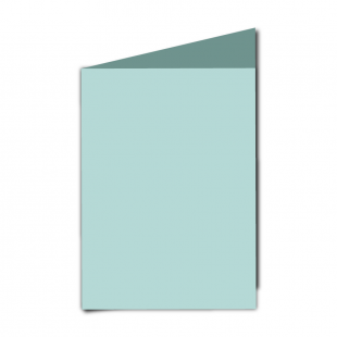 "5"" x 7"" Pale Turquoise Card Blanks"