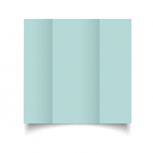 DL Gatefold Pale Turquoise Card Blanks