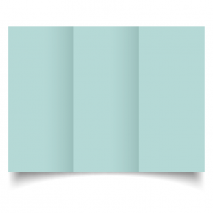 DL Trifold Pale Turquoise Card Blanks