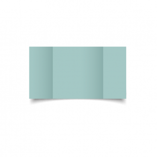 Large Square Gatefold Pale Turquoise Card Blanks