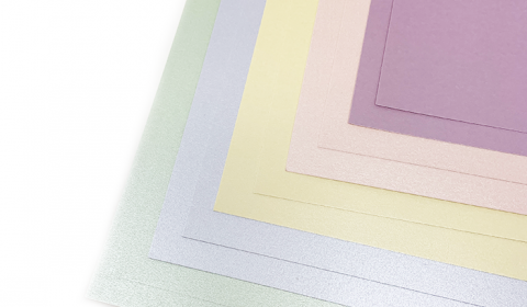 Pastel Pearlised Mixed Card Pack | 10 Sheets