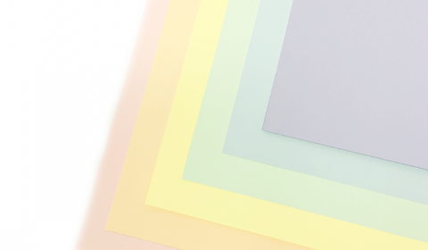 Pastel Rainbow Mixed Card Pack A4 | 18 Sheets