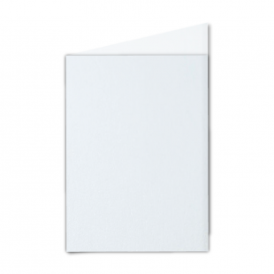 "5"" x 7"" Ultra White Pearlised Card Blanks"