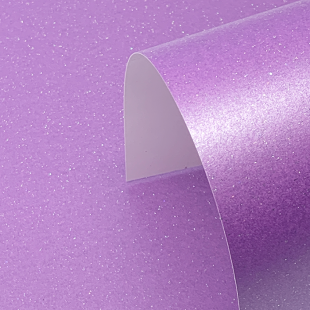 Periwinkle Purple Pure Sparkle Card Blanks One Sided 300gsm