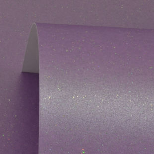 Periwinkle Sparkle Print Card 300Gsm