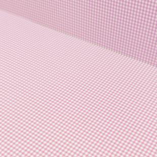Pastel Pink Gingham Card 300gsm