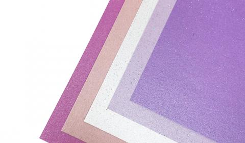 "Princess Sparkle Mixed Card Pack 12"" x 12""   5 Sheets"