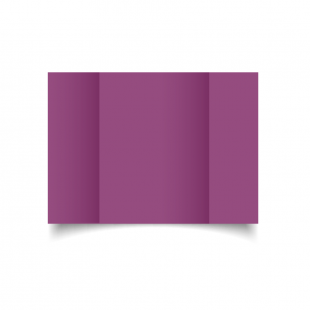 A5 Gatefold Purple Grape Card Blanks