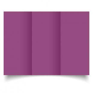 DL Trifold Purple Grape Card Blanks