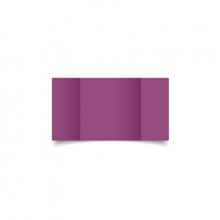 Small Square Gatefold Purple Grape Card Blanks