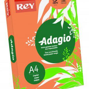 A4 (210x297mm) Rey Adagio Mandarin 80gsm | 500 Sheets