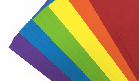Rainbow Pack of Cardstock A4 | 18 Sheets