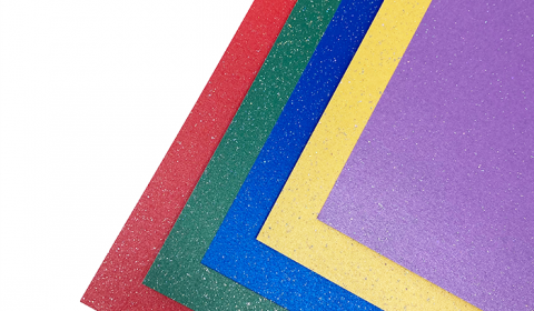 """Sparkle Rainbow Mixed Card Pack 12"""" x 12"""" 