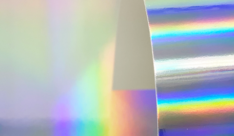 Rainbow Holographic Mirror Card 270gsm