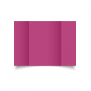 A5 Gatefold Raspberry Pink Card Blanks